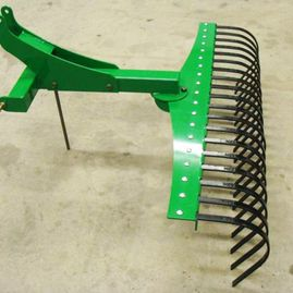 Construction equipment accessories and agricultural implements